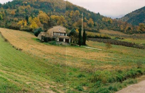 La maison en 2005, sans vignes