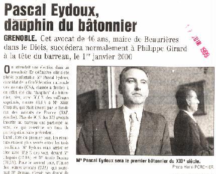 Extrait presse Pascal Eydoux