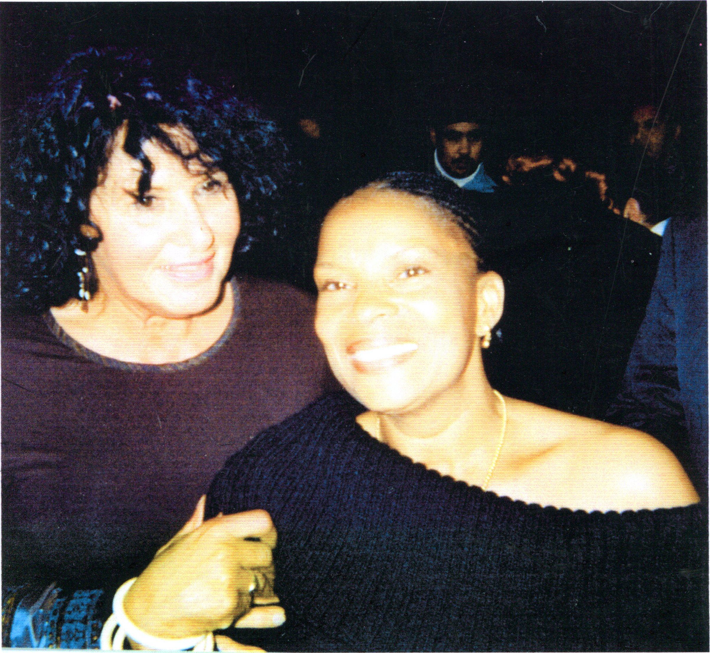 Sylvette Garcin et Christiane Taubira